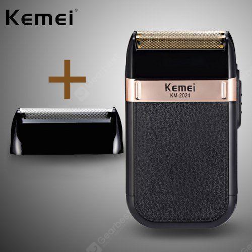Kemei  KM-2024 Waterproof Shaver for Men Reciprocating Cordless Razor