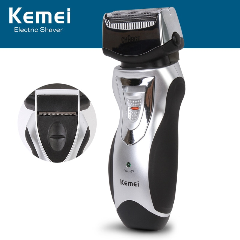 Kemei KM-8007 Cordless Electric Shaver Razor Rechargeable Facial Beard Use Trimmer