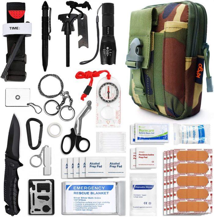 Camping Medical Pack Emergency Survival Set