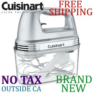 Cuisinart HM-90BCS Handheld Mixer With Storage Case 9-Speed Mixer for Kitchen