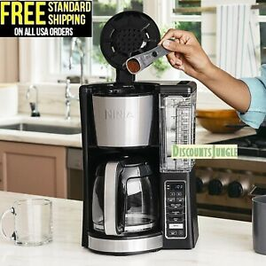 Ninja CE201 12-Cup Programmable 60 oz. Coffee Maker With Classic Rich Brews