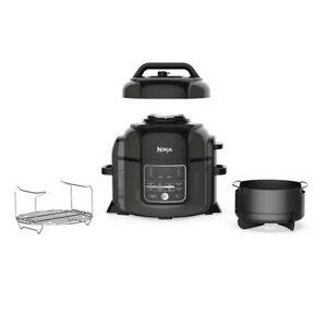 Ninja OP301 Foodi 9-in-1 Pressure Slow Cooker Air Fryer 6.5 Quart Capacity