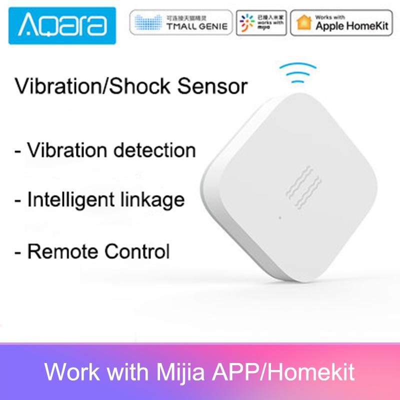 Aqara Vibration Sensor Smart Motion Shock Detection Alarm Monitor for Home Safety