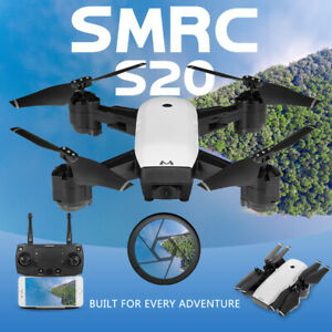 SMRC S20 120° Wide-Angle Altitude 6 Axles Gyro FPV RC Drone Foldable Quadcopter