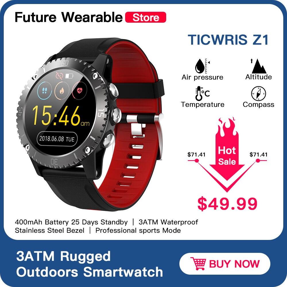 TICWRIS Z1 Rugged Outdoors Smartwatch