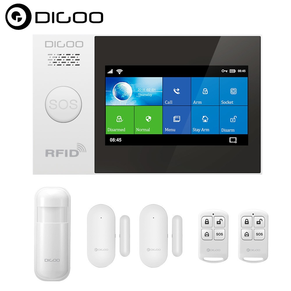 DIGOO DG-HAMA Wireless Smart Alarm Smart Home Security Alarm System