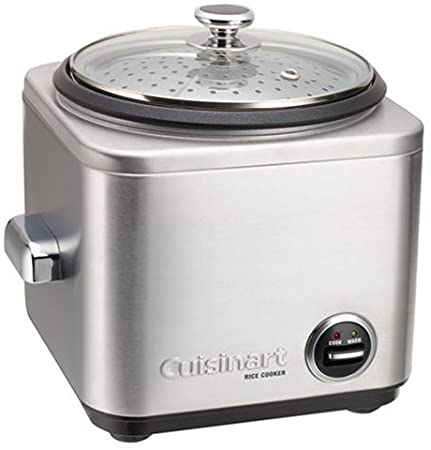 Cuisinart CRC-Series 4-8 Cups Rice Cooker Meat And Vegetables Steamer