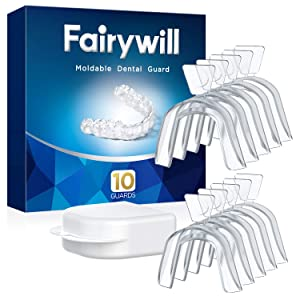 Fairywill Multi Use Moldable Dental Guard For Grinding Teeth BPA-free Teeth Whitening Trays