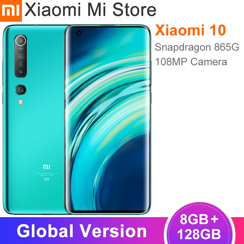 Xiaomi Mi 10 5G Smartphone Global Version 128GB / 256GB 108MP Pro Camera 8K Video