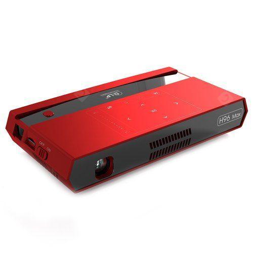 H96 MAX Voice Control Mini Projector DLP FHD 4K 5G WIFI 200-inch Home Theater