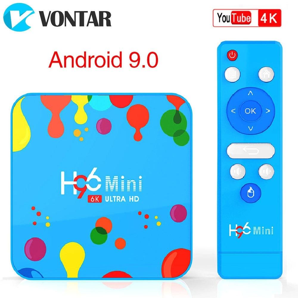 H96 Mini H6 Smart TV Box 128GB Allwinner 6K WiFi Set Top Box Home Media Player