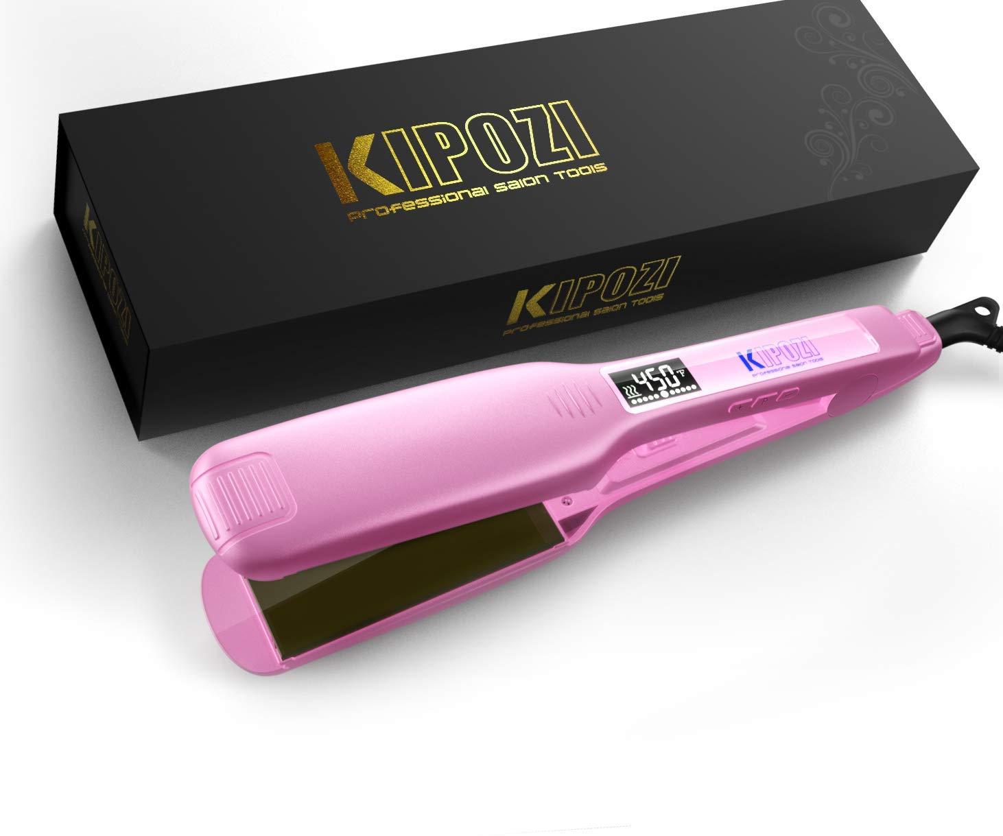 KIPOZI Charming Pink Hair Styling