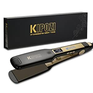 Buy KIPOZI 1.75 Inch Flat Iron Hair Straightener