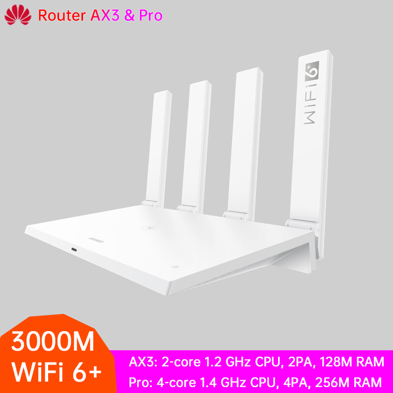 HUAWEI Router AX3 And AX3 Pro WiFi 6 Plus Wireless Router 3000Mbps Gigabit Rate