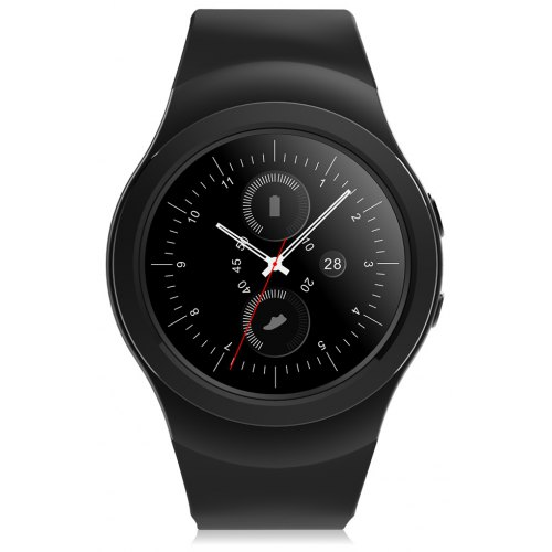 NO.1 G3+ Heartbeat Monitor Smartwatch Rotating Bezel Sleep Monitoring Watch