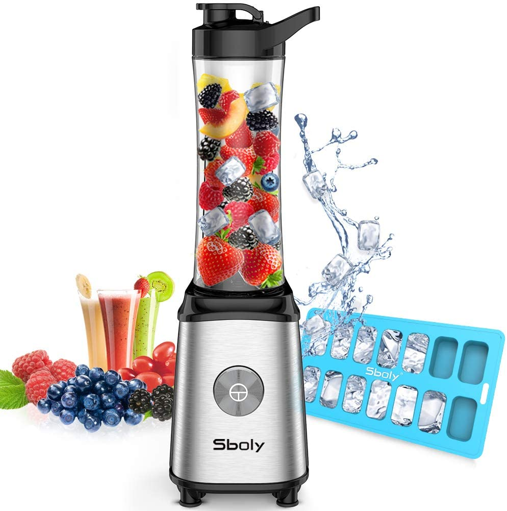 Sboly Home Kitchen BPA-Free Blender For Juice Shakes and Smoothie with 20 oz Tritan