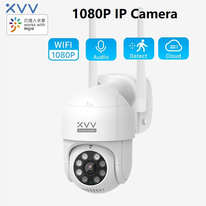XiaoVV P1 HD Waterproof Outdoor Wireless Night Vision Two-way Audio 270 Degree IP Camera