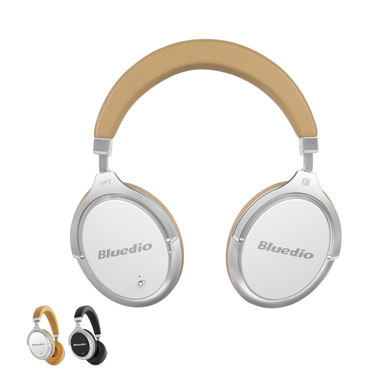 Bluedio F2 Real Voice Active Noise Cancelling Wireless Headphones Bluetooth Headset With Mic