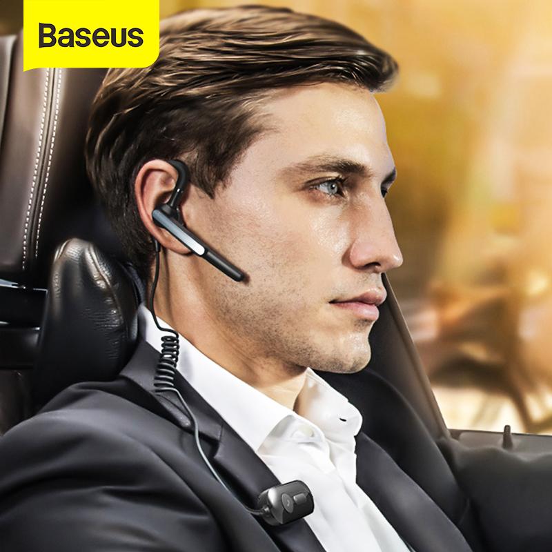 Baseus A10 Wireless Headset APTX AI Smart Handsfree Waterproof Business Bluetooth Earphone With HD Mic