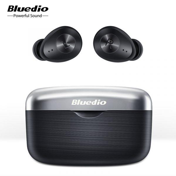 Bluedio Fi Bluetooth Earbuds APTX Waterproof Sports TWS Wireless In-ear Headphones