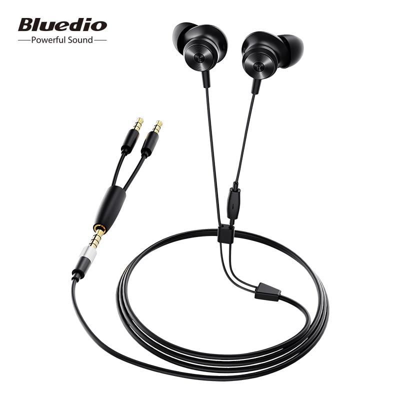 Bluedio Li (Li Pro) Magnetic Wired Headphones Y-shaped Line Sports Earphones