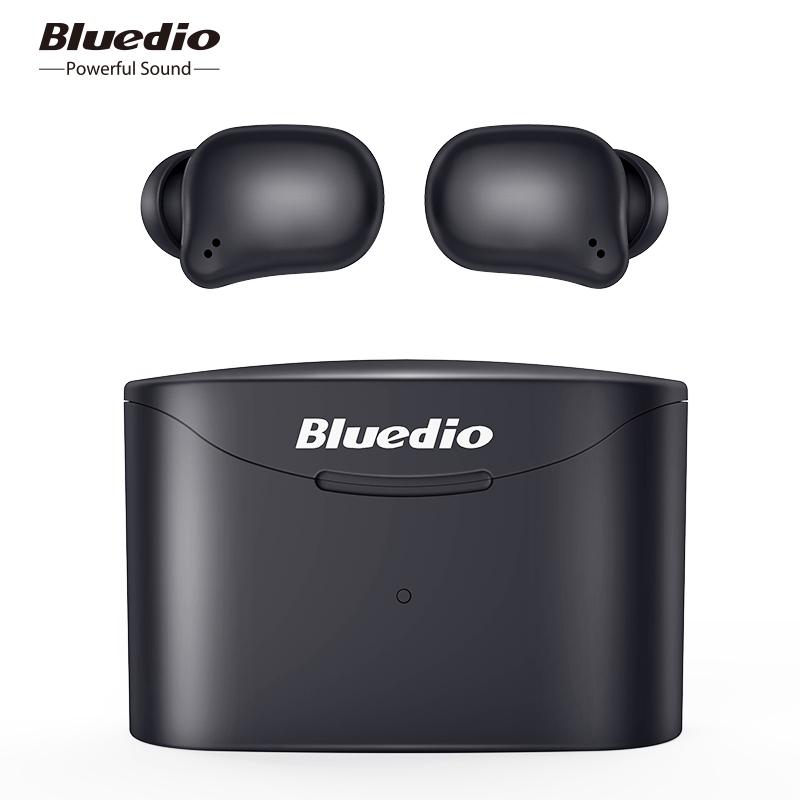 Bluedio T-elf 2 Waterproof Bluetooth Sports Headset Wireless In Ear Earbuds With Charging Box