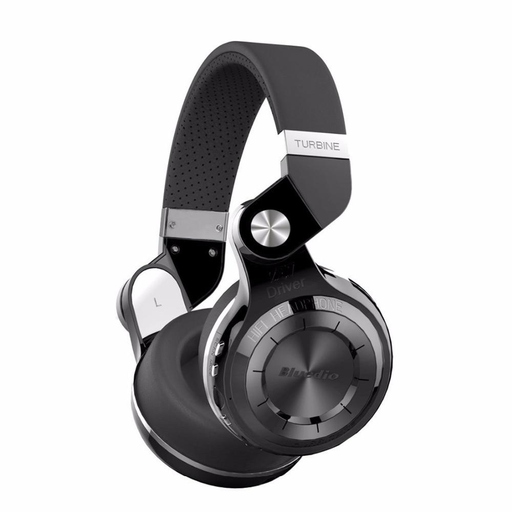 Bluedio T2 Plus Bluetooth 5.0 Headphones with Mic FM Radio SD Card Wireless Headset
