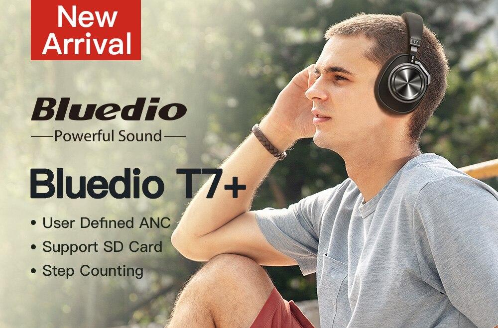 Bluedio T7 Plus Smart Bluetooth Headset
