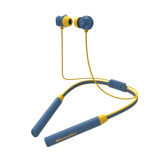 Bluedio TN2 Sports Bluetooth Neckband Active Noise Canceling Wireless Stereo Earphones