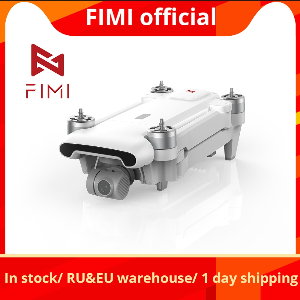 FIMI X8SE 2020 Camera Drone 3-axis Gimbal 4K Camera HDR Video35mins Flight Time RC Quadcopter