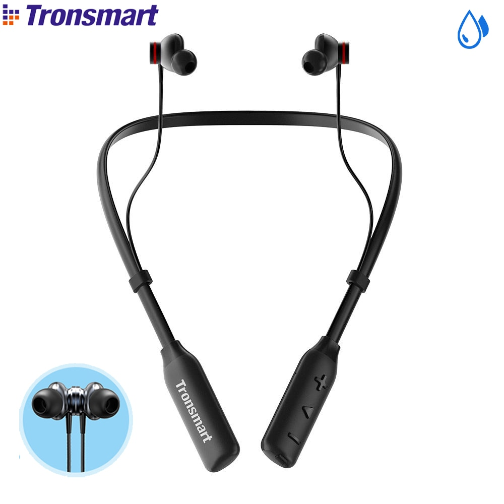 Tronsmart Encore S2 Plus Voice Control Wireless Headset Qualcomm Chip Bluetooth Earphones