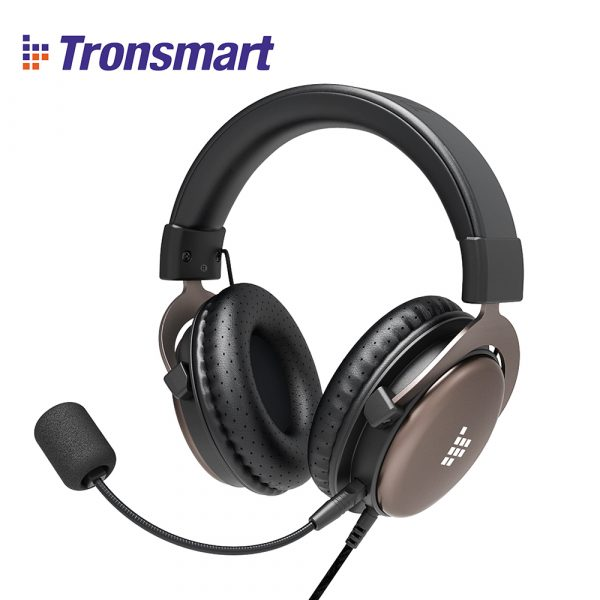 Tronsmart Sono Gaming Headset Wired Headphones With Mic For Gamers