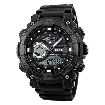 SKMEI Sport Watch 1283 Men Military Waterproof Dual Display Function Quartz Outdoor Watch