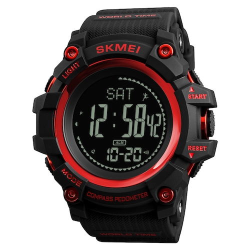 SKMEI 1358 Military Multifunction Sports Outdoor Waterproof Tide Compass Men's Watch