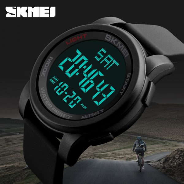 SKMEI 1257 Men's Watches Sports Outdoor Function Electronic 50m Waterproof Watch