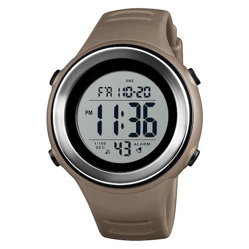 SKMEI 1394 Noctilucent Luminous Alarm Integral-Point Electronic Watch New Trend Stopwatch
