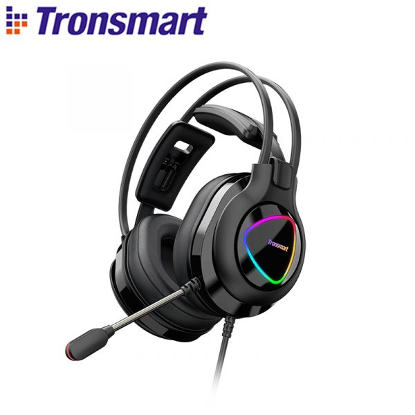 Tronsmart Glary Alpha Gaming Headset With LED Lighting Headphones for Computer Laptop