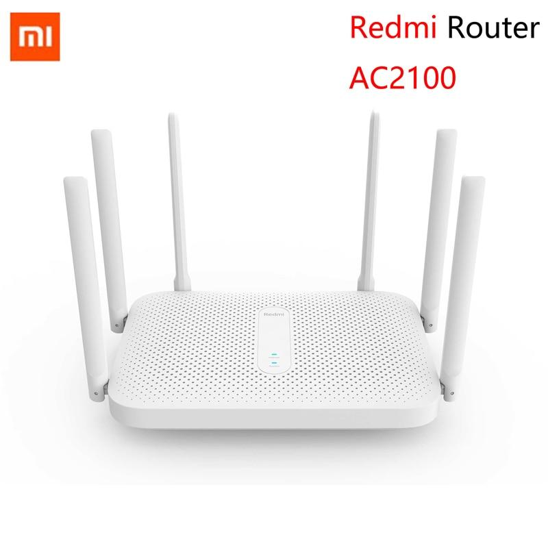Xiaomi Redmi AC2100 Gigabit Router 2033Mbps Wireless 2.4G + 5G Dual-band 6 Antenna Router
