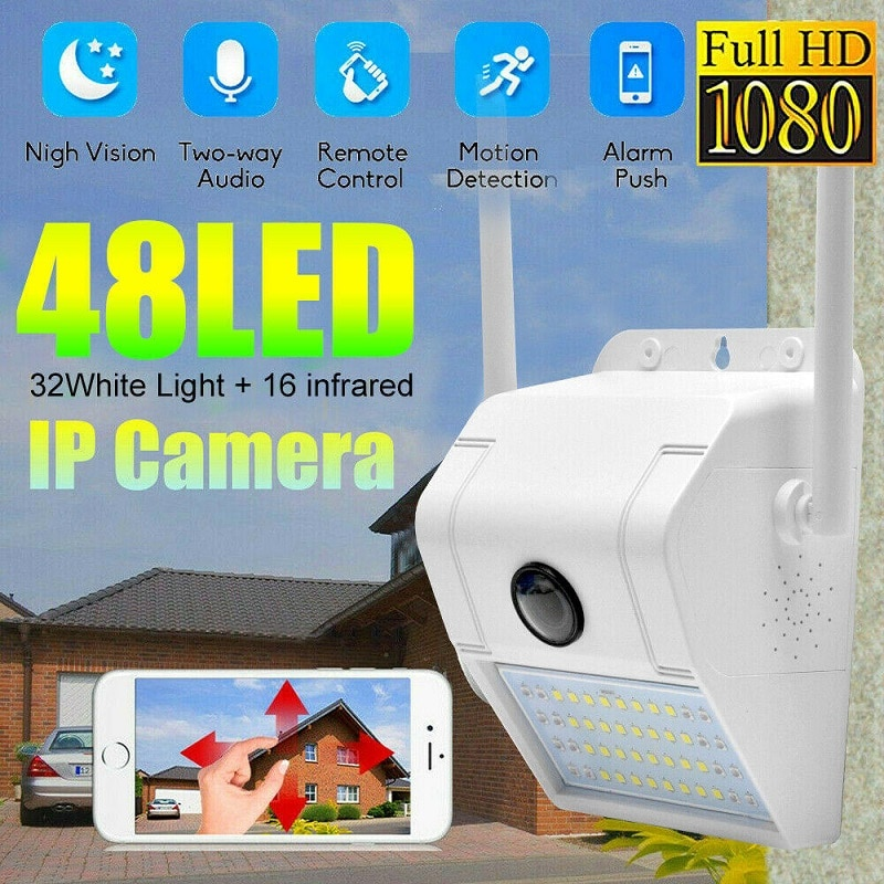 Buy XiaoVV D6 IP Camera With Induction Light