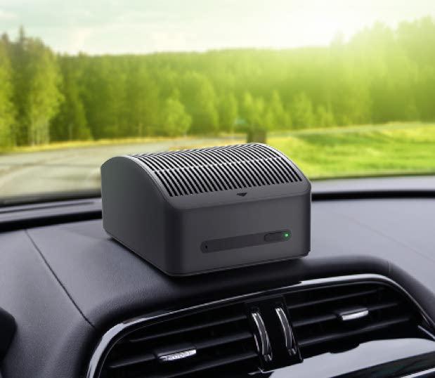 70mai Midrive AC01 Car Air Purifier Aroma Essential Oil Diffuser Humidifier For Car