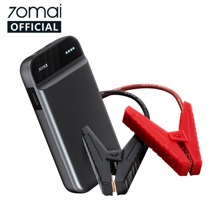 70mai Car Power Bank Jump Starter Emergency Booster 11000mah 600A Portable Battery