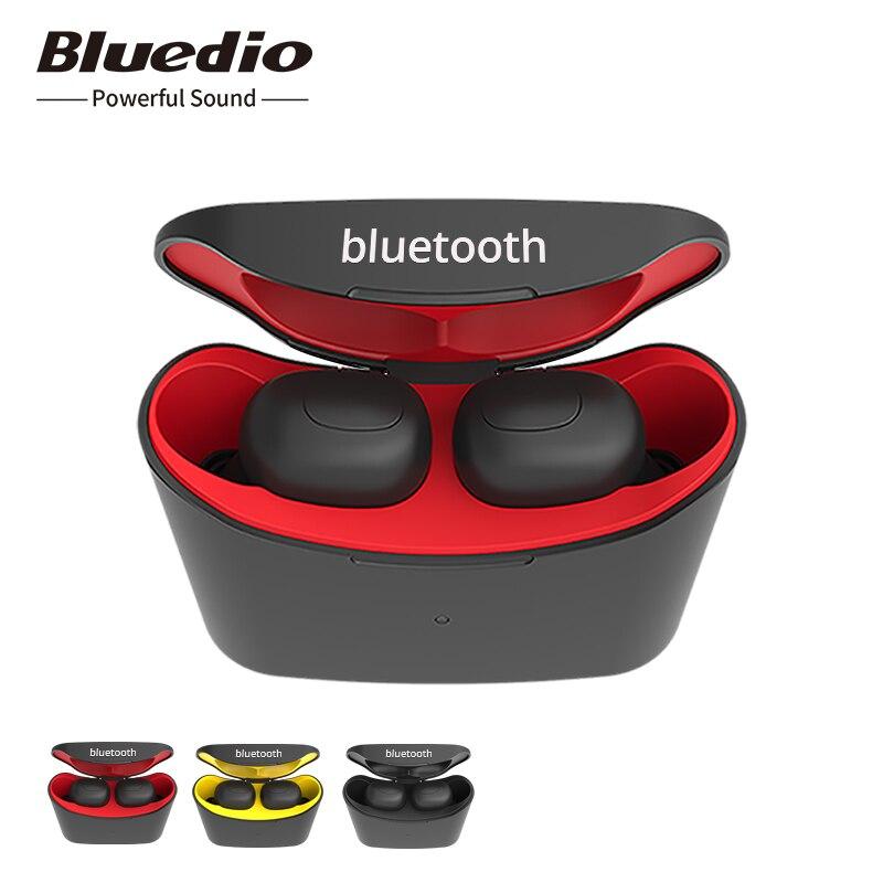 Bluedio T-elf Mini TWS Earbuds Bluetooth 5.0 Sports Headset Wireless Earphone With Charging Box