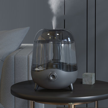 Deerma DEM F323 Cool Mist Air Humidifier 5L Large Capacity Bedroom And Living Room Crystal Mute Mini Humidifier