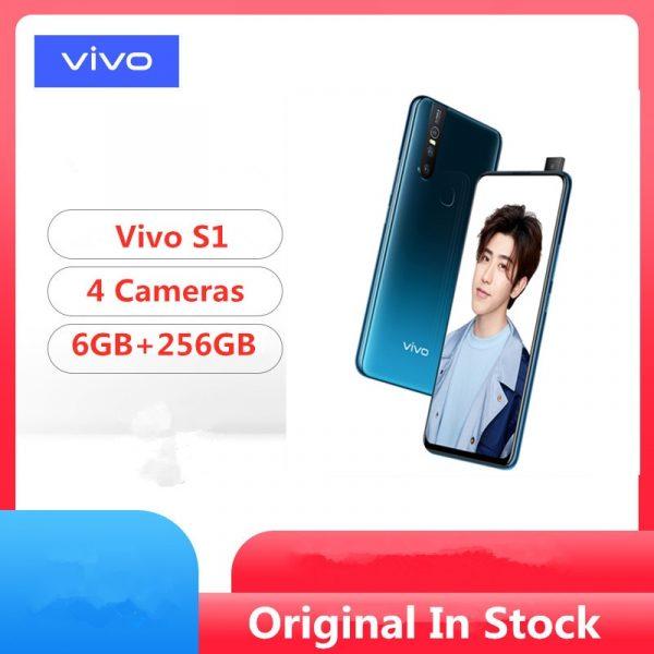 Vivo S1 4G Smartphone 6GB RAM 128GB ROM Fingerprint Sensor 3 Rear Cameras Selfie Phablet