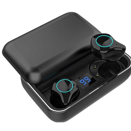Gocomma R6 LED Display TWS Bluetooth Headset Waterproof Wireless Stereo Sports Earbuds