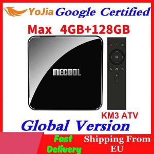 MECOOL KM3 ATV TV Box