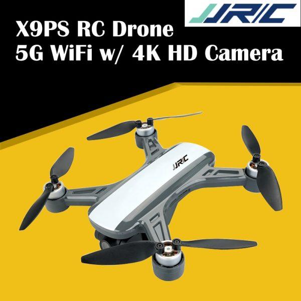 JJRC X9PS Upgraded Heron GPS 5G WiFi RC Drone FPV 4K HD Camera Optical Flow RTF Quadcopter