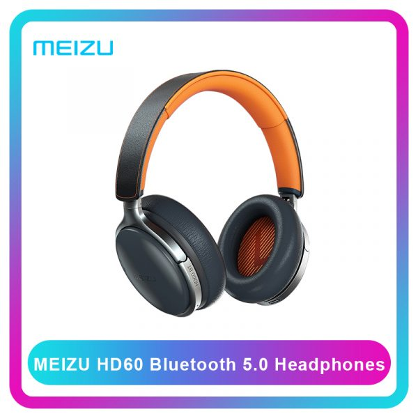 Meizu HD60 Wireless Headphone 40mm CVC Noise Cancelling Touch Operation Aicy Siri Apt-X Bluetooth Headset