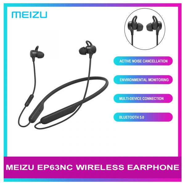 Meizu EP63NC Bluetooth 5.0 Earphone Waterproof Sport Wireless Stereo Headset With Microphone
