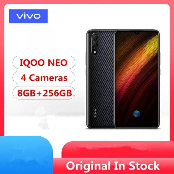 Vivo IQOO NEO 6.38-inch Amoled Display Smartphone 64GB to 256GB ROM Face ID Fingerprint Phablet